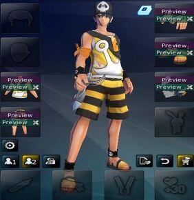 Pirate ace set