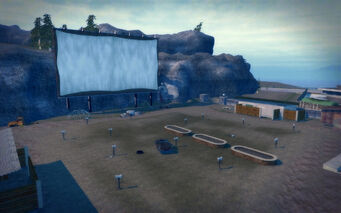 Pleasant View in Saints Row 2 - Drive-in