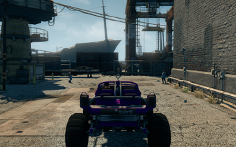 Saints Raider - rear in Saints Row The Third