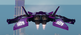 Saints VTOL - hover mode - rear in Saints Row The Third