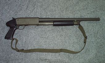 Pump-Action Shotgun - Ithaca 37 in real life
