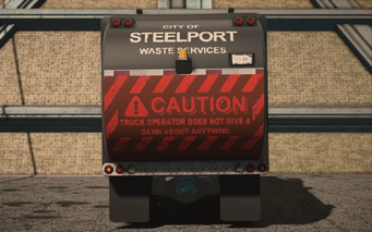 Saints Row IV variants - Steelport Municipal Alien - rear