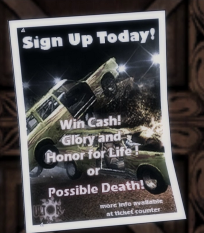 File:Demo derby poster Saints Row 2 in-game.png