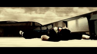 Richie knocked out by Jyunichi in Flight Plans cutscene