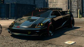 Wraith - front left in Saints Row The Third