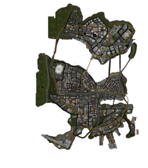 Stilwater map in Saints Row