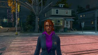 Kinzie - Face as Homie in Saints Row The Third