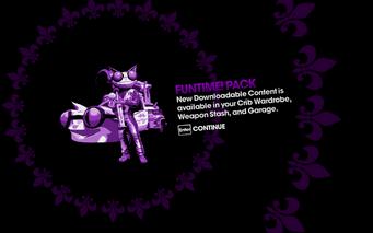 DLC unlock SRTT - Funtime Pack