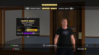 GameStop T-Shirt - front