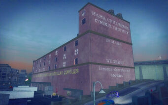 Charlestown in Saints Row 2 - Mama Childress's cookie factory