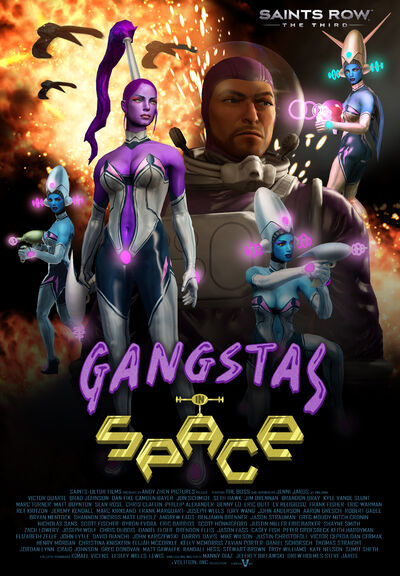 Gangstas in Space movie poster
