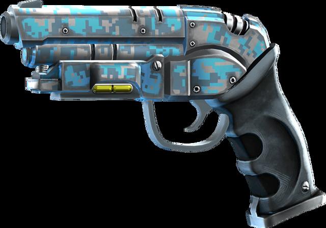 File:SRIV Pistols - Heavy Pistol - DEK-RD Railpistol - Arctic Camo.png