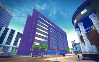 Harrowgate in Saints Row 2 - Leonard building
