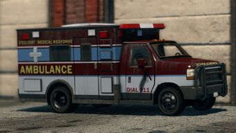 Ambulance in Saints Row The Third