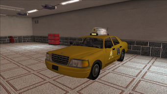 Saints Row variants - Taxi - Eagle - front left