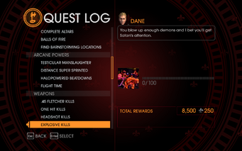 Gat out of Hell Challenge - Explosive Kills