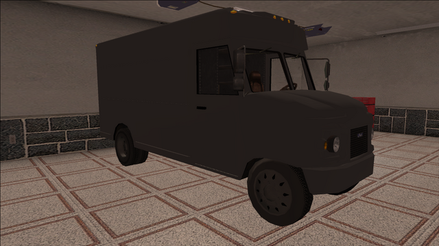 File:Saints Row variants - Delivery Truck - Unmarked - front right.png