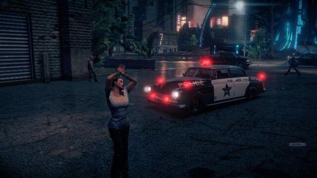 File:Police Gunslinger - front left with flashing lights in Saints Row IV.jpg