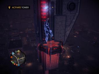 Saints Row IV Tower Diversion - Activate Tower