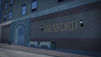 Branded in Filmore - east wall