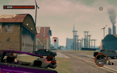 Three Way - Killbane's plane crashing