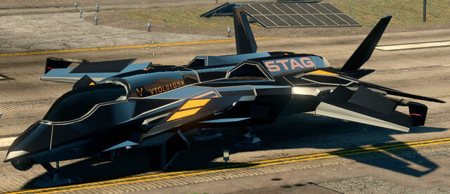 File:F-69 VTOL - Cyrus variant - front left parked in Saints Row The Third.jpg
