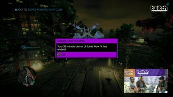 20 minute demo of Saints Row IV
