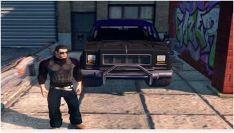Alaskan - front in Saints Row The Third