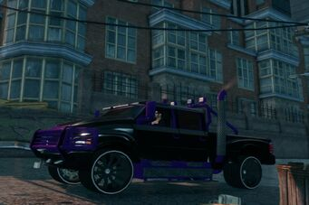 Compensator - Black and Purple in Saints Row The Third