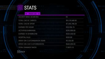 Stats Page 2 in Saints Row IV