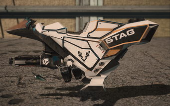 Saints Row IV variants - Specter STAG - left