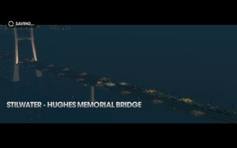Return to Steelport - Hughes Memorial Bridge title