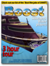 Boost-unlock racing boat