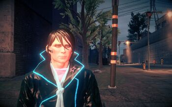 Matt Miller in Deckers clothes in Saints Row IV