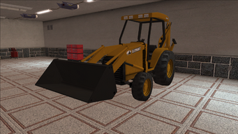 Saints Row variants - Backhoe - front left