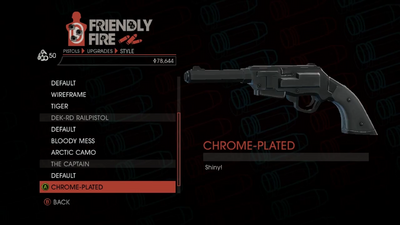 Weapon - Pistols - Heavy Pistol - The Captain - Chrome-Plated