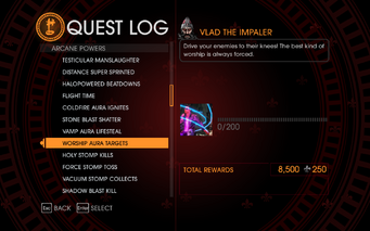 Gat out of Hell Challenge - Worship Aura Targets