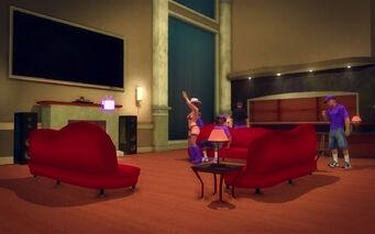 Downtown Loft - Modern - tv