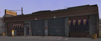 Samson's Garage in Saints Row