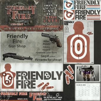 Friendly Fire - signs from the game files