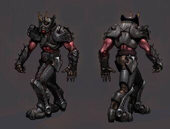 Demonic Grenadier Concept Art