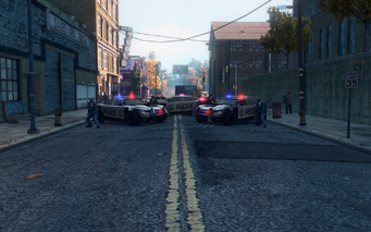 SRTT Roadblock - Police level 2 - alt small