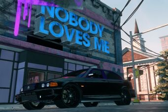 Nelson - front left in Saints Row The Third