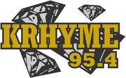 95.4 KRhyme FM logo