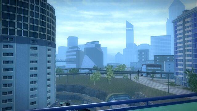 File:Heron Hotel - view from balcony.jpg