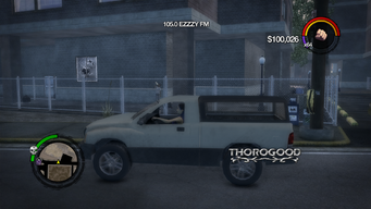 Thorogood - left in Saints Row 2