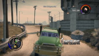 Compensator - front in Saints Row 2