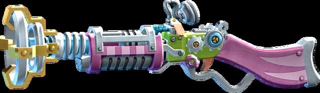 File:SRIV Shotguns - Pump-Action Shotgun - Kardak Lasershot - Genki.png