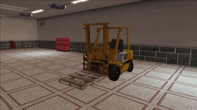 File:Saints Row variants - Forklift - industrial with pallet - front left.png
