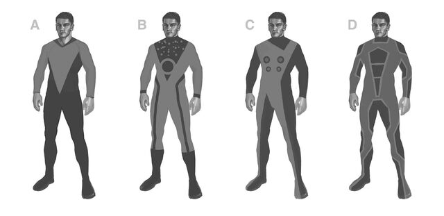 File:The Ship - Space Suits Concept Art - 4 versions.jpg